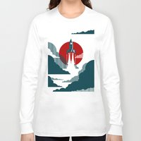 art Long Sleeve T-shirts featuring The Voyage by Danny Haas