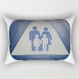 Family Room Rectangular Pillow
