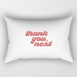 Thank You, Next, Thankful Art, Thank You Quote Rectangular Pillow