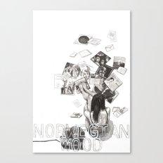 Norwegian Wood Film Poster Canvas Print