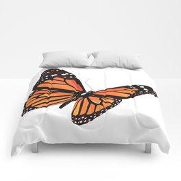Geometric Butterfly Comforters