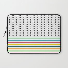 stripes & rings Laptop Sleeve