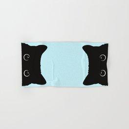 Black cat I Hand & Bath Towel