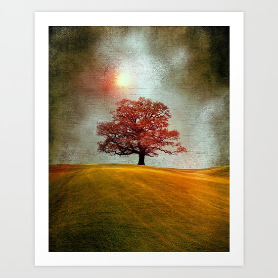 Energy & love (colour option) Art Print