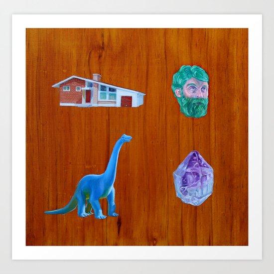 Four Things Art Print