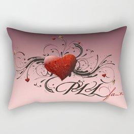 Pretty Little Liars fan heart Rectangular Pillow