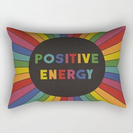 Positive Energy Rectangular Pillow