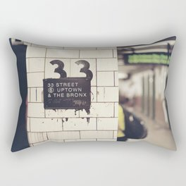 33rd Street & The Bronx Rectangular Pillow