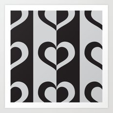 Half A Heart #4 Art Print