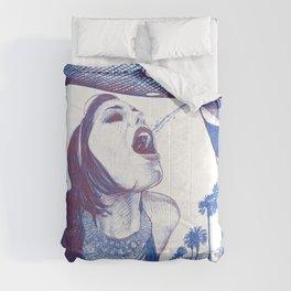 asc 857 - L'étoile dans le ruisseau (The back-alley thrill) - sketch Comforters