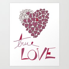True Love Art Print
