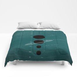 The Worlds (Aqua) Comforters