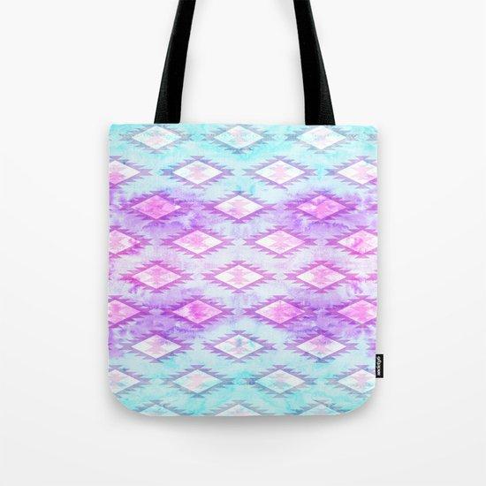 Watercolor Navaho Tote Bag