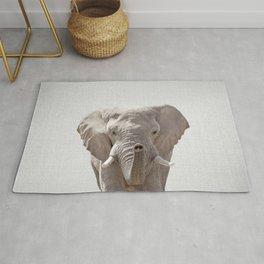 Elephant - Colorful Rug