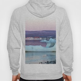 Viking ice ship and Church Hoody
