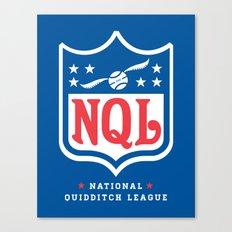 NQL Canvas Print