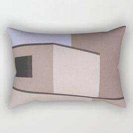 The Desert House Rectangular Pillow