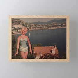 Swinging on the Riviera One Day Framed Mini Art Print