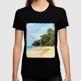 Tropical Beach - Landscape Nature Photography T-shirt