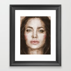 Jolie Framed Art Print