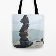 Rock Sculpture  Tote Bag