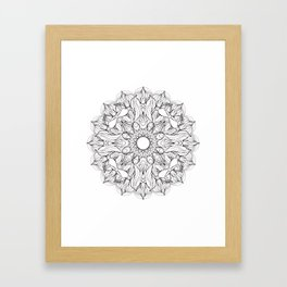 Love_Virus Framed Art Print