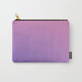 TAINTED CANDY - Minimal Plain Soft Mood Color Blend Prints Carry-All Pouch