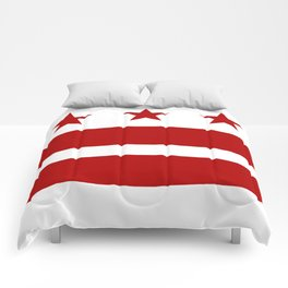 Washington DC District Of Columbia Flag Comforters