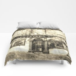 Greyfriars Bobby Pub Edinburgh Vintage Comforters