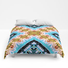 ethnic cross Comforters