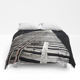 Forgotten Bridge Comforters