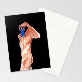 Manda Nudes? Stationery Cards