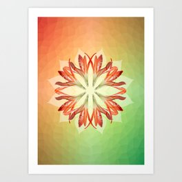 Lily Tranquility Art Print