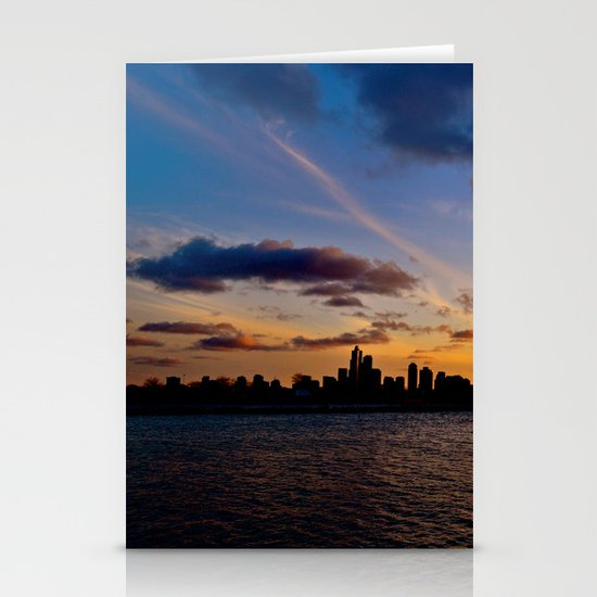 Chicago Sunset Stationery Cards