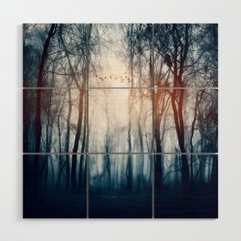 Morning Colours Wood Wall Art