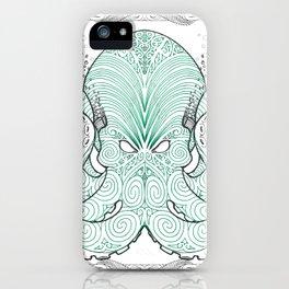 Ko te pou (The Octopus) iPhone Case