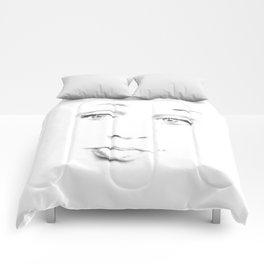 Le Visage Pâle (The Pale Face) Comforters