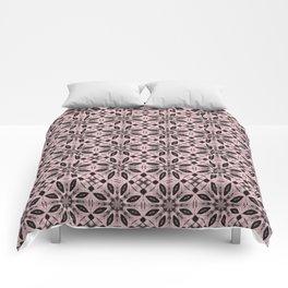 Blushing Bride Floral Pattern Comforters