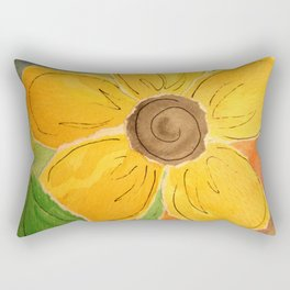 Paper Buttercup Rectangular Pillow