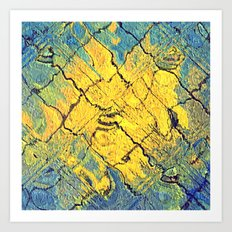 sunabstract. Art Print