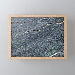 Green Marble Framed Mini Art Print