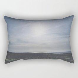 Blue skies at sundown / island summer view / Ireland wanderlust fine art print Rectangular Pillow