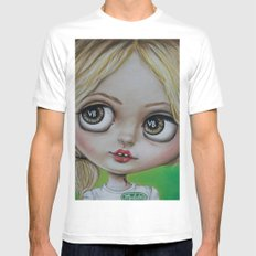 Sookie Stackhouse Blythe Doll  MEDIUM White Mens Fitted Tee