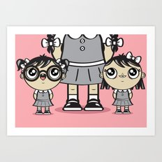 Some Girls Are Bigger Than Others Art Print