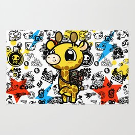 Cute Giraffe Rug