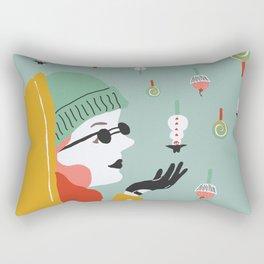 Bonbon de neige Rectangular Pillow