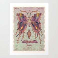Panthea aura Art Print