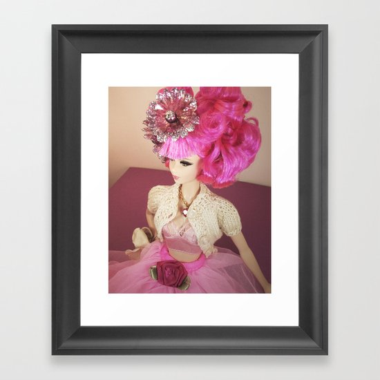 Prim and Proper Framed Art Print