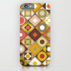 parava retro diagonal Slim Case iPhone 6s