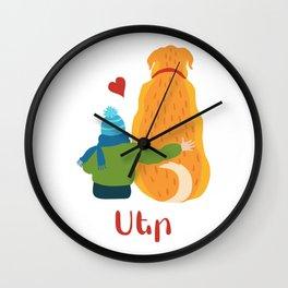 Love - Ser Wall Clock